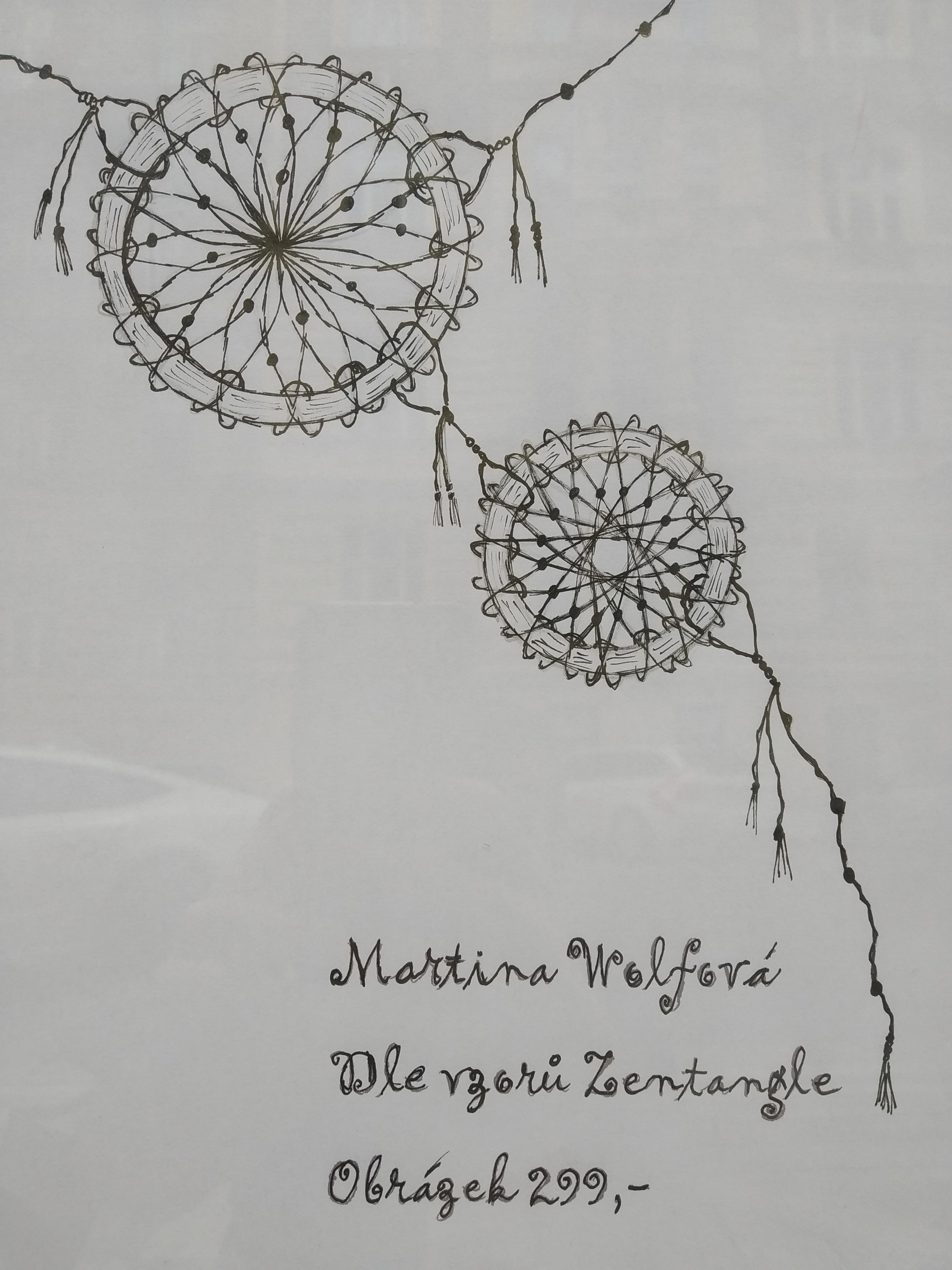 Martina Wolfová's Exhibition